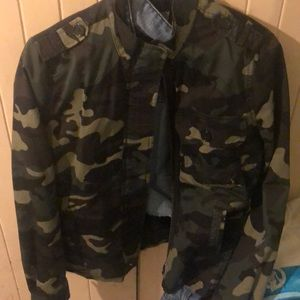 Army Jacket (WOMEN) from Charlotte Russe